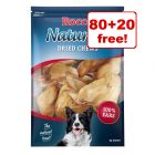 Rocco Natural Dried Cows' Ear - 80 + 20 Free!*