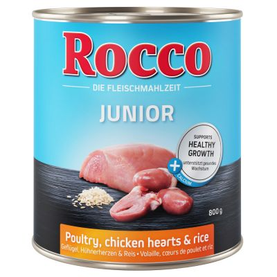 Rocco Junior Saver Pack 24 x 800g
