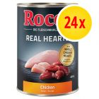 Rocco Real Hearts pack ahorro 24 x 400 g