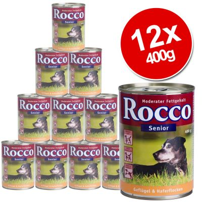 Rocco Senior Saver Pack 12 x 400g