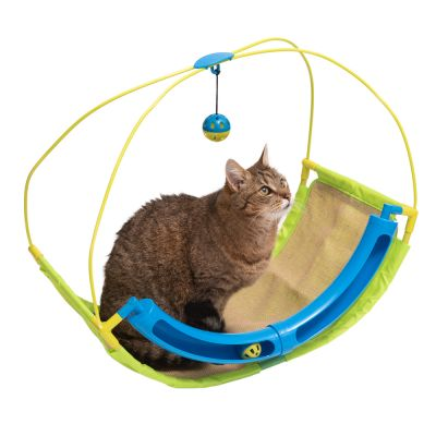 Rolling Scratching Cat Hammock with Ball