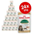 Royal Canin Breed Wet Cat Food Saver Pack 24 x 85g