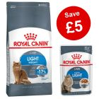 Royal Canin Feline Dry Food + Wet Food - Save £5!*