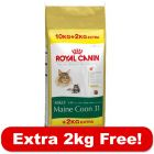 Royal Canin Feline Breed 10kg + 2kg Free!