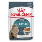 Royal Canin Hairball Care în sos