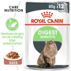 Royal Canin Kattenvoer - Digest Sensitive in Saus
