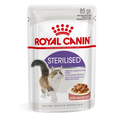 Royal Canin Kattenvoer - Sterilised in Saus