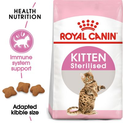 Royal Canin Kitten Sterilised - Growth & Weight Control