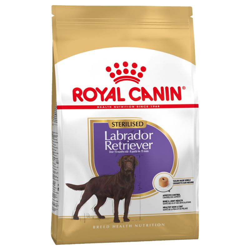 Incroyable Royal Canin Breed Labrador Retriever Adult Sterilised - Croquettes VV-26