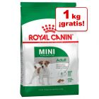 Royal Canin Mini Adult 9 kg en oferta: 8 + 1 kg ¡gratis!