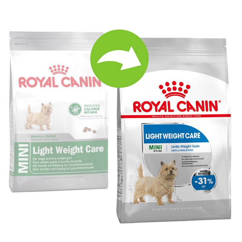 Top Royal Canin Mini Light Weight Care. Buy Now at zooplus IE AX75