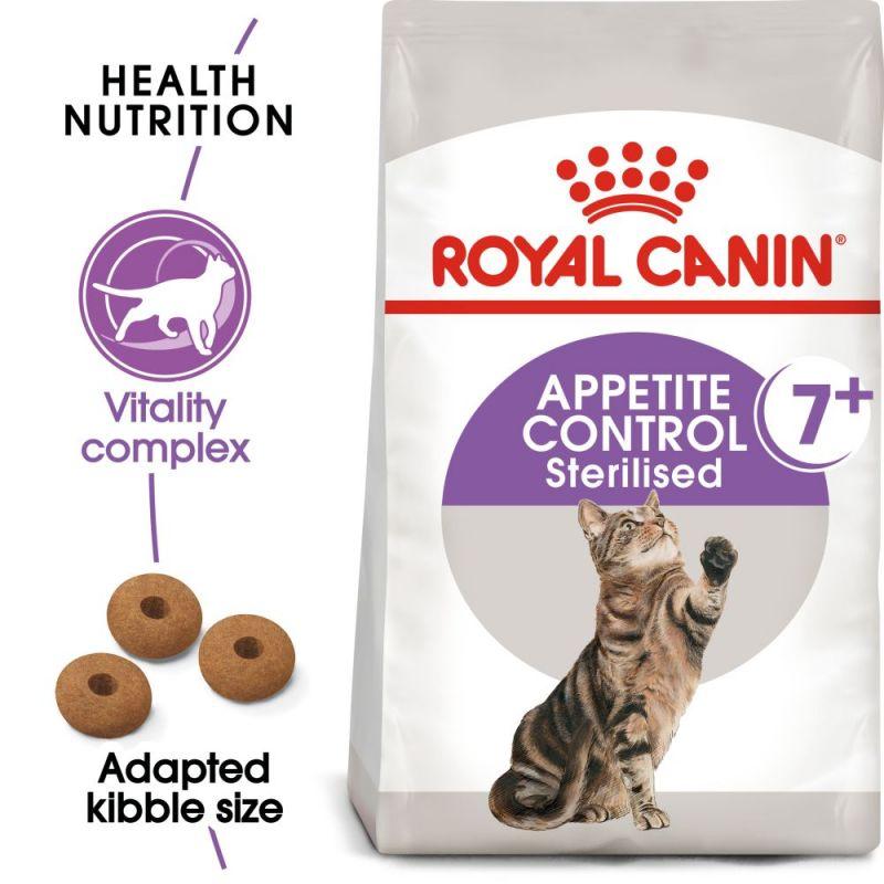 Royal Canin Sterilised 7+ Appetite Control Cat