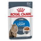 Royal Canin Ultra Light en sauce pour chat