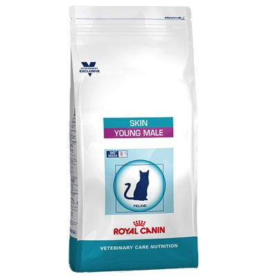 Royal Canin Vet Care Nutrition Skin Young Male pour chat