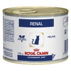 Royal Canin Veterinary Diet Feline Renal Cans with Chicken