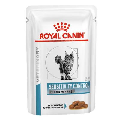 Royal Canin Veterinary Diet Feline Sensitivity Control Pui Hrană umedă