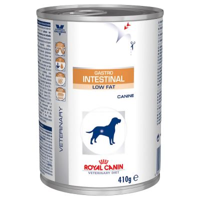 Royal Canin Gastro >> Royal Canin Veterinary Diet Gastro Intestinal Low Fat Wet Dog Food