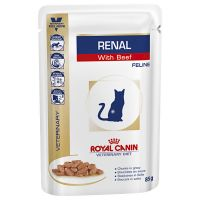 Royal Canin Veterinary Diet Renal, boeuf pour chat