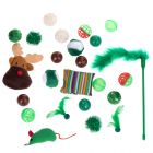 Rudolph Cat Toy Set