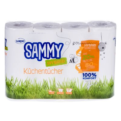 Sammy Hybrid Kuchenrolle 3 Lagig Zum Top Preis Bitiba De