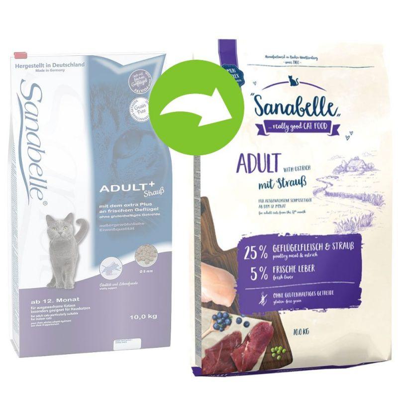 Sanabelle Adult com avestruz