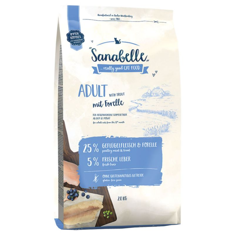 Sanabelle Adult com truta