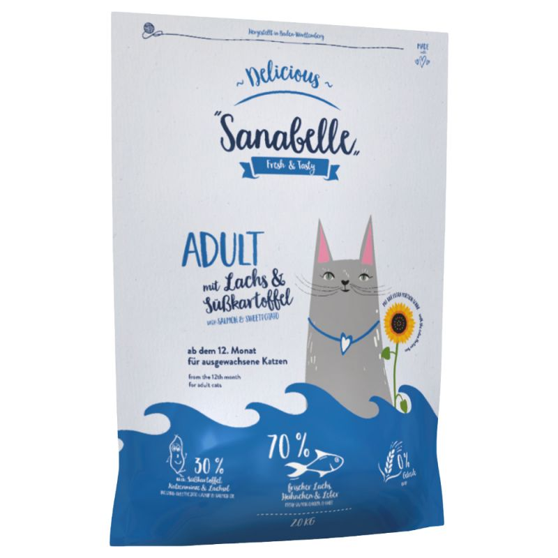 Sanabelle Delicious Adult with Salmon & Sweet Potato