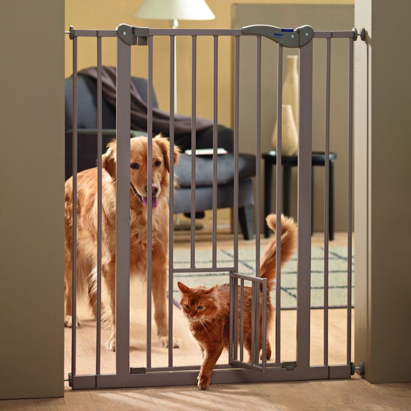 Dog Barriers U2013 Savic Dog Barrier 2 With Cat Door: Great Deals At Zooplus