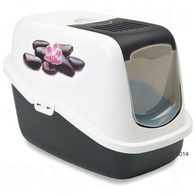 Savic Nestor Impression Litter Box - Orchid
