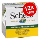 Schesir Adult Saver Pack 12 x 150g