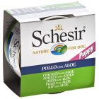 Schesir Puppy Chicken & Aloe 6 x 150 g