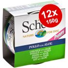Schesir Puppy Saver Pack 12 x 150g