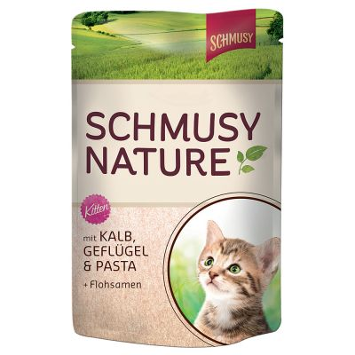 Schmusy Nature Balance Kitten in busta