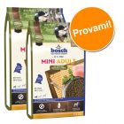 Set prova misto! 2 x 3 kg bosch HPC Adult Mini