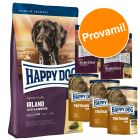 Set prova misto Happy Dog Irlanda secco + umido + snack