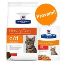 Set misto secco + umido per gatti Hill's Prescription Diet