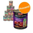 Set prova! Animonda GranCarno Original Adult  6 x 800 g