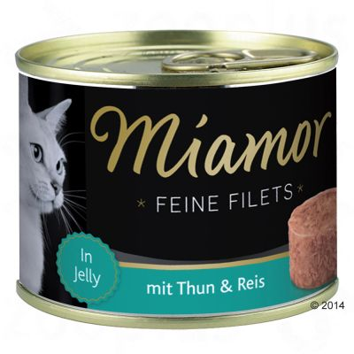 Set prova misto! Miamor Delicato Filetto in Gelatina 185 g