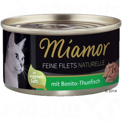 Set prova misto! Miamor Delicato Filetto Naturale 12 x 80 g