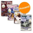 Set prova misto! Taste of the Wild 4 x 390 g