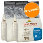 Set prova misto! 2 x 2 kg Almo Nature Sterilised