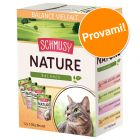 Set prova! Schmusy Nature Balance Kitten 12 x 100 g