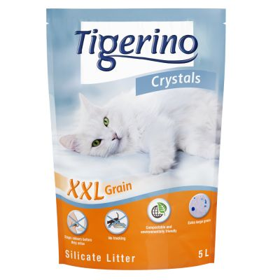 Set Prova! 6 x 5 l Lettiere Tigerino Crystals