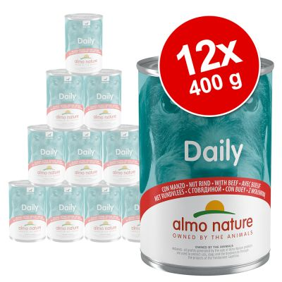 Set Risparmio! Almo Nature Daily 12 x 400 g
