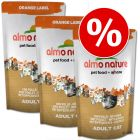Set risparmio! 3 x 750 g Almo Nature Orange Label Adult