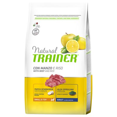 Set risparmio! 2 x 7 kg / 3 x 2 kg Trainer Natural Small & Toy