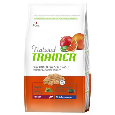 Set risparmio! 2 x 12 kg Trainer Natural Medium & Maxi