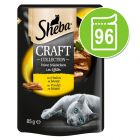 Sheba Craft Collection Pack 96 x 85 g - Megapack económico