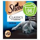 Sheba Tray Mixed Saver Pack 96 x 85g