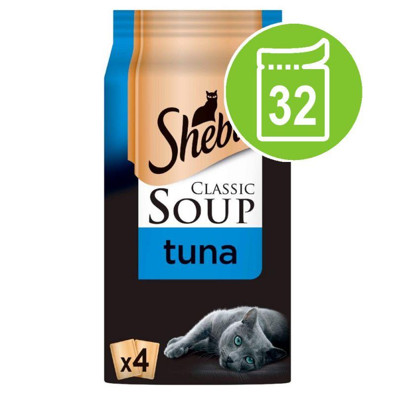 Sheba Classic Soup Saver Pack 32 x 40g